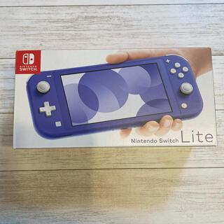 Nintendo Switch -  NINTENDO SWITCH ブルー 新品未使用品