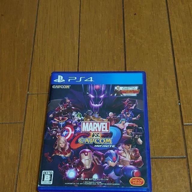 PlayStation4(プレイステーション4)のMARVEL VS. CAPCOM:INFINITE エンタメ/ホビーのゲームソフト/ゲーム機本体(家庭用ゲームソフト)の商品写真