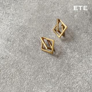 ete - 早い者順❣️ete ゴールドイヤリング
