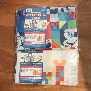 Disney - ディズニーエコバック 2袋