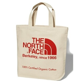 THE NORTH FACE - ノースフェイス トートバッグ THE NORTH FACE レッド 赤 コットン
