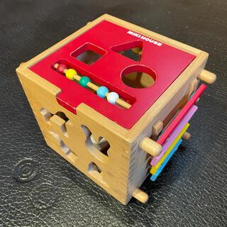 ミキハウス(mikihouse)のミキハウス 木製パズル 知育玩具(知育玩具)