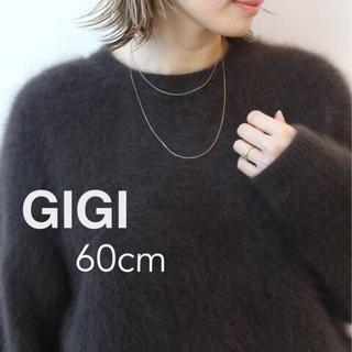DEUXIEME CLASSE - ドゥーズィエムクラス GIGI 18K 60CM ネックレス