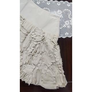 フォクシー(FOXEY)の美品★FOXEY★blossomスカート(ひざ丈スカート)