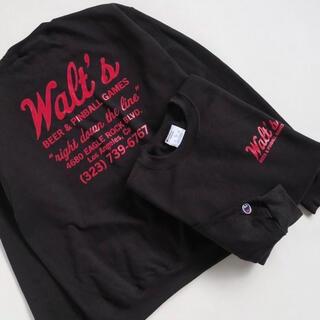 Champion - 【Lサイズ】 Walts bar Champion Crew neck