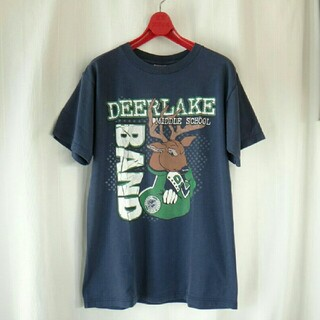 ヘインズ(Hanes)のフルーツオブザルーム Tシャツ ネイビー(Tシャツ/カットソー(半袖/袖なし))