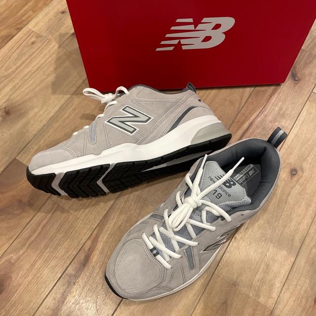 New Balance(ニューバランス)の【27㎝】 NEW BALANCE MX619 GR2 GRAY SUEDE メンズの靴/シューズ(スニーカー)の商品写真