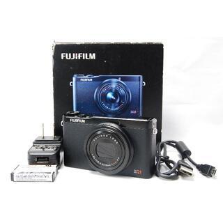 フジフイルム(富士フイルム)のFUJIFILM XQ1 ブラック コンパクトデジタルカメラ(コンパクトデジタルカメラ)