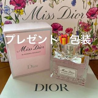 クリスチャンディオール(Christian Dior)のプレゼント包装 ミスディオール ブルーミングブーケ 30ml メッセージカード(香水(女性用))