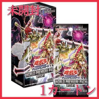 KONAMI - ★最安★未開封★ 遊戯王 ワールドプレミアパック2021 1カートン 24BOX