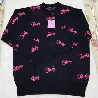 レディー(Rady)のRady ちびロゴ ロゴセーター ろごセーター(ニット/セーター)