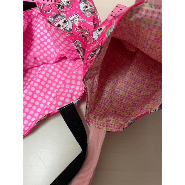 ハンドメイド。2点セット ハンドメイドのキッズ/ベビー(バッグ/レッスンバッグ)の商品写真