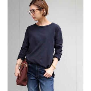 DEUXIEME CLASSE - ☆完売❗️Deuxieme Classe Layering Tシャツ ネイビー☆