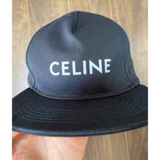 セリーヌ(celine)のキャップ 帽子 海外 納品書有 希少 完売 ハット ブラック 3代目 M メンズ(キャップ)