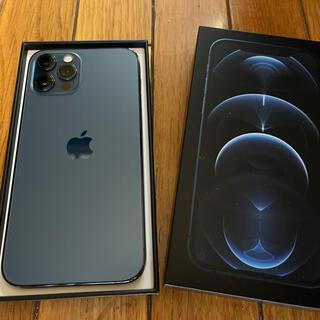 iPhone12Pro 128GB  パシフィックブルー SiMフリー済