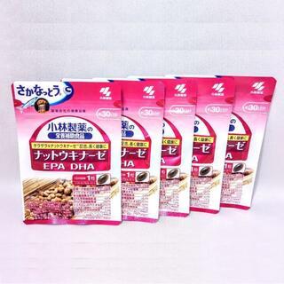 小林製薬 - 小林製薬 ナットウキナーゼ EPA DHA 約30日分 30粒×5袋セット(1)