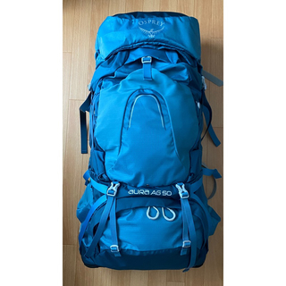 オスプレイ(Osprey)の【今週限定値下!】オスプレー オーラAG 50  リュックサック バックパック(登山用品)