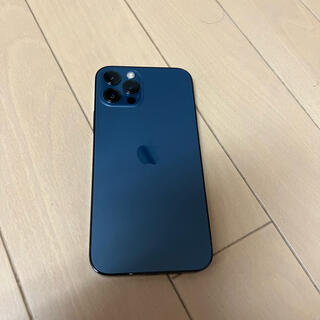 iPhone - iPhone 12 pro パシフィックブルー 128 GB SIMフリー美品