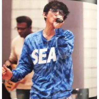 SEA - キムタク着 wind and sea ロンT 木村拓哉 野口強 XXX