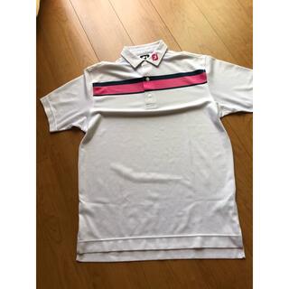 FootJoy - メンズゴルフポロシャツ footjoy 半袖ポロシャツ サイズL