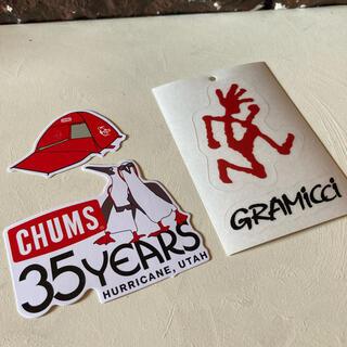 GRAMICCI - CHUMS & GRAMiCCi Sticker set ⬜︎ #cg2