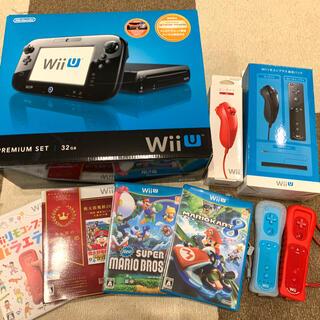 任天堂 - 「Nintendo Wii U プレミアムセット KURO」ソフト付き