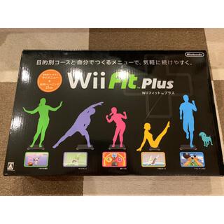 任天堂 - Wii Fit Plus バランスWiiボード クロ ソフト付き