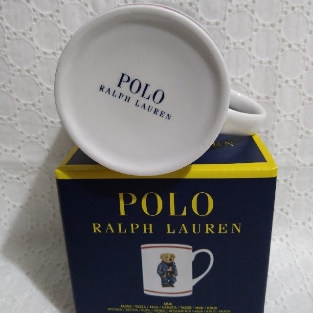 POLO RALPH LAUREN(ポロラルフローレン)の♡未使用♡ポロラルフローレン♡ポロベア♡マグカップ♪ インテリア/住まい/日用品のキッチン/食器(グラス/カップ)の商品写真