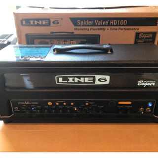 LINE6 spider valve HD100 + フットスイッチ付き(ギターアンプ)