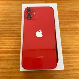 iPhone - 超美品 iPhone12 mini レッド64GB SIMフリー
