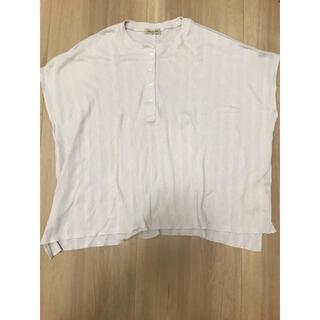 サマンサモスモス(SM2)のニットカットソー(カットソー(半袖/袖なし))