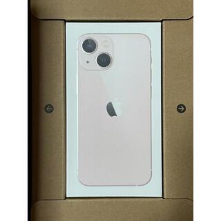 Apple - 【即日発送対応・新品未開封】iPhone 13 mini ピンク 128GB