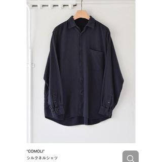 COMOLI - 新品 COMOLI (コモリ) シルクネル シャツ