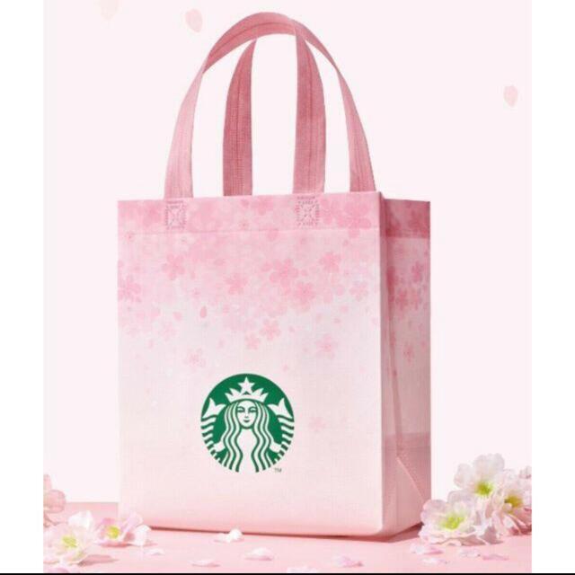 Starbucks Coffee(スターバックスコーヒー)のスターバックス☆新品未使用!韓国限定エコバッグ、ショッパー レディースのバッグ(エコバッグ)の商品写真