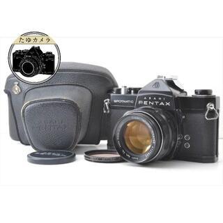 ペンタックス(PENTAX)のPentax SP ブラック super takumar 50mm 1.4(フィルムカメラ)