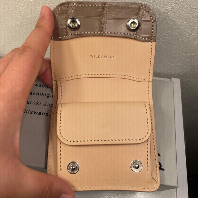 GANZO(ガンゾ)のワイルドスワンズ CASA クロコ 限定 メンズのファッション小物(折り財布)の商品写真