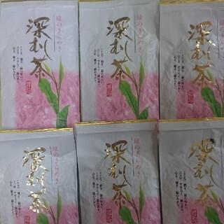 静岡県産 深むし茶 100g6袋 静岡茶だんらん(茶)