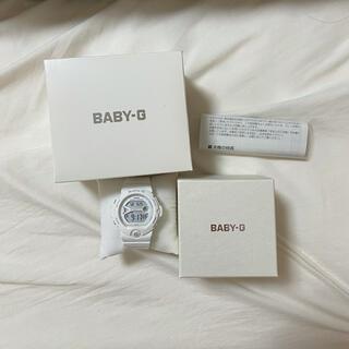 ベビージー(Baby-G)のbaby-g 白腕時計(腕時計)