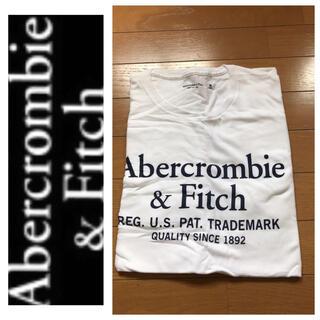 アバクロンビーアンドフィッチ(Abercrombie&Fitch)の◎L◎新品正規品◎アバクロ◎UネックTシャツ◎送料込 (Tシャツ/カットソー(半袖/袖なし))