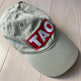 bobo chose - TAO タオ キャップ ロゴキャップ 帽子 カーキ キッズ KIDS