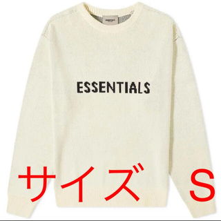 フィアオブゴッド(FEAR OF GOD)のNew Front Logo Sweater ESSENTIALS(ニット/セーター)