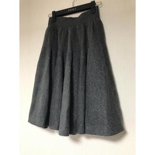 フォクシー(FOXEY)のFOXEY プリンセスカシミヤ スカート (ひざ丈スカート)