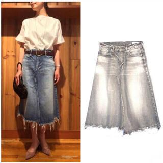 ドゥーズィエムクラス(DEUXIEME CLASSE)のアッパーハイツデニムスカート(ひざ丈スカート)