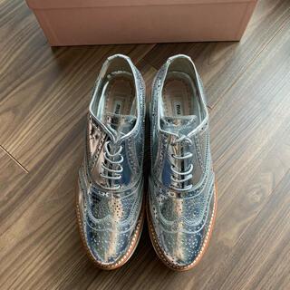 ミュウミュウ(miumiu)のミュウミュウ⭐︎ローファー(ローファー/革靴)