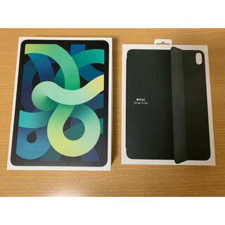 Apple - iPad Air4 smartFolio グリーンセット