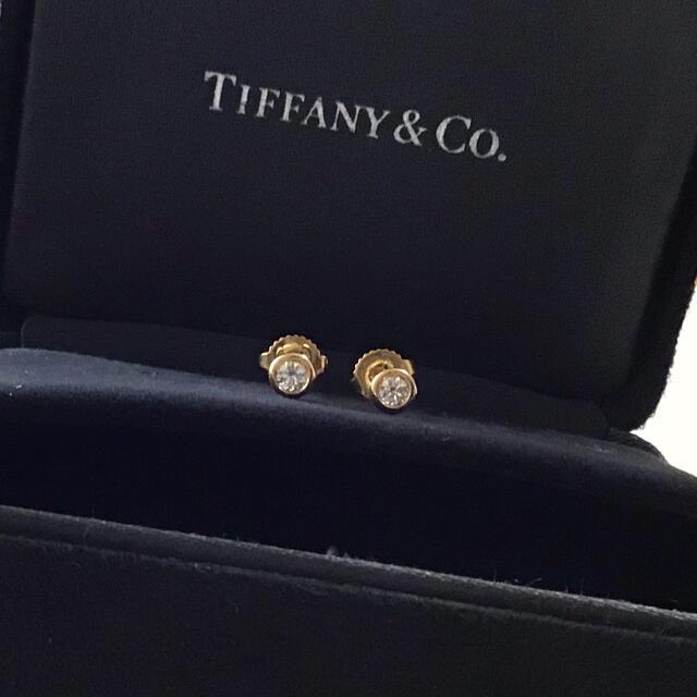Tiffany & Co.(ティファニー)のティファニー 一粒ダイヤ スタッド ピアス バイザヤード 0.08ct×2 ペア レディースのアクセサリー(ピアス)の商品写真