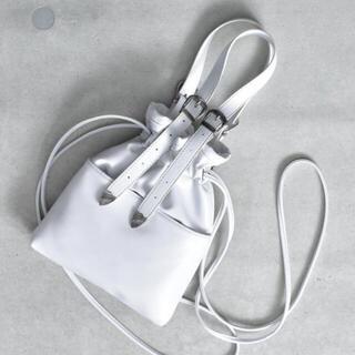 TOGA - 【SVEC】 バックル ベルト 巾着 ショルダー バッグ