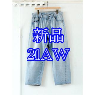COMOLI - 【新品】21AW comoli 5p デニム ブリーチ