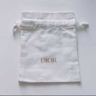 ディオール(Dior)のディオール ホワイト 巾着 (その他)