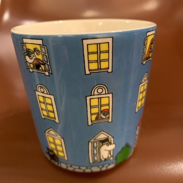 ARABIA(アラビア)の2015 70周年 アラビア ムーミンマグ  インテリア/住まい/日用品のキッチン/食器(グラス/カップ)の商品写真